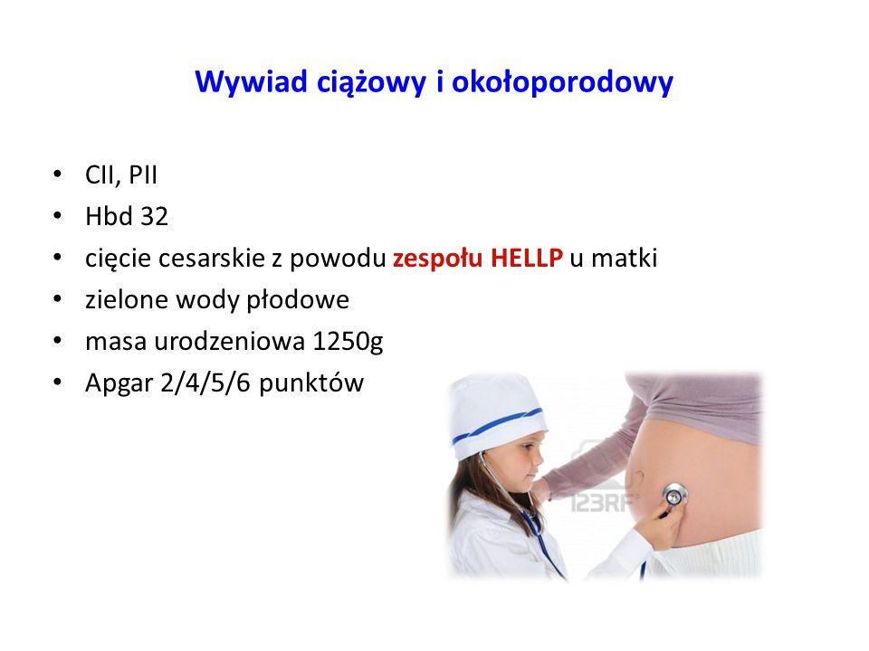 Wywiad ciążowy i okołoporodowy