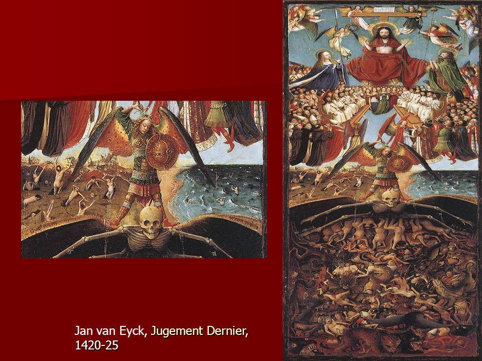 Jan van Eyck, Jugement Dernier, 1420-25