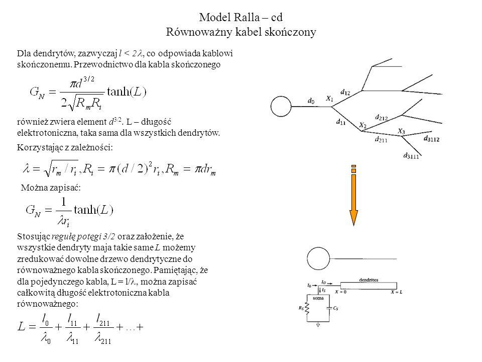 Model Ralla – cd Równoważny kabel skończony