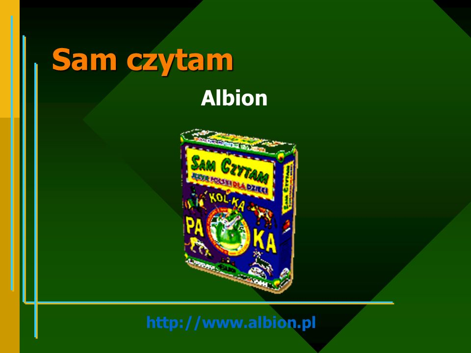 Sam czytam Albion http://www.albion.pl