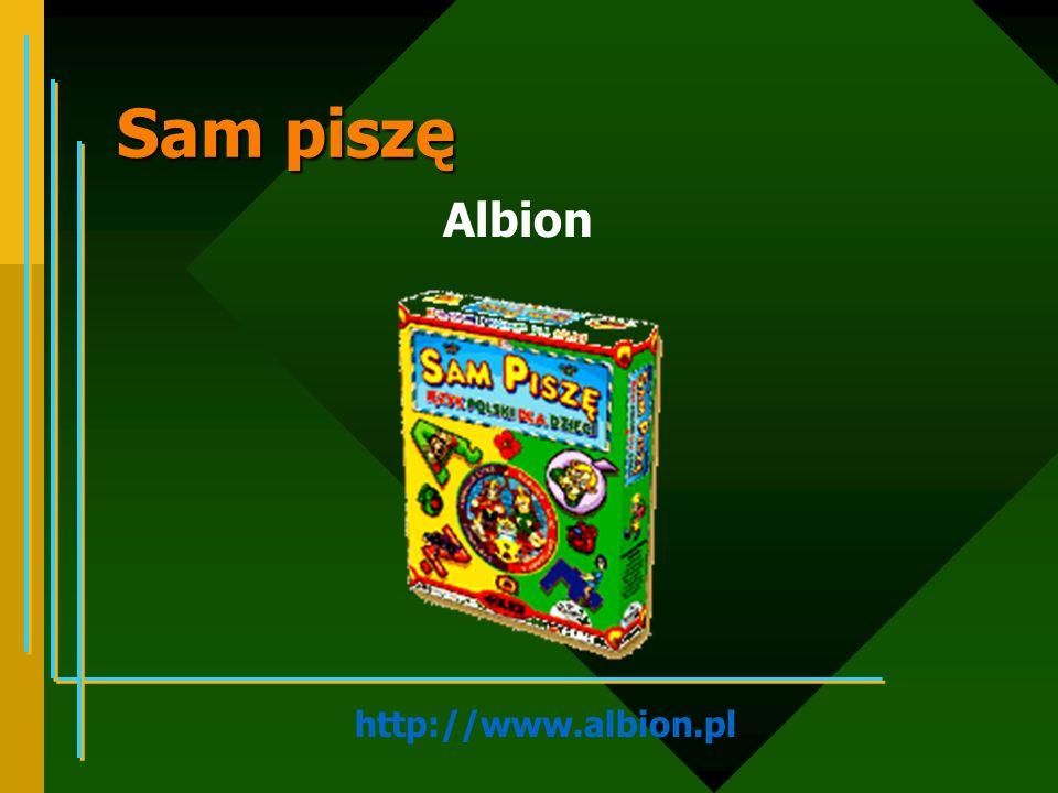 Sam piszę Albion http://www.albion.pl