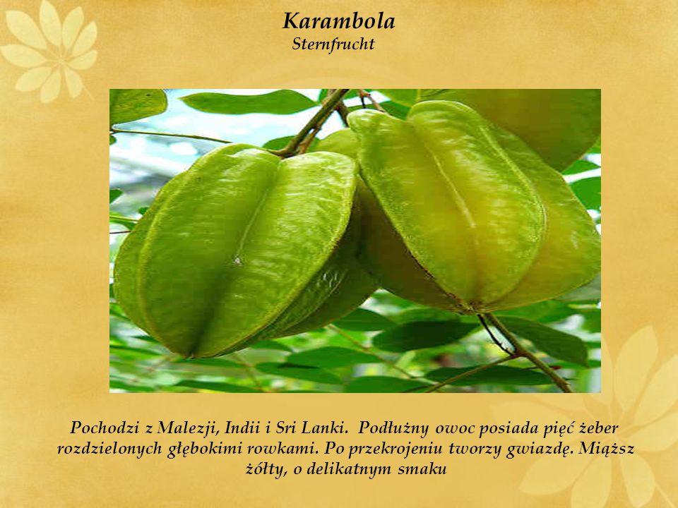 Karambola Sternfrucht