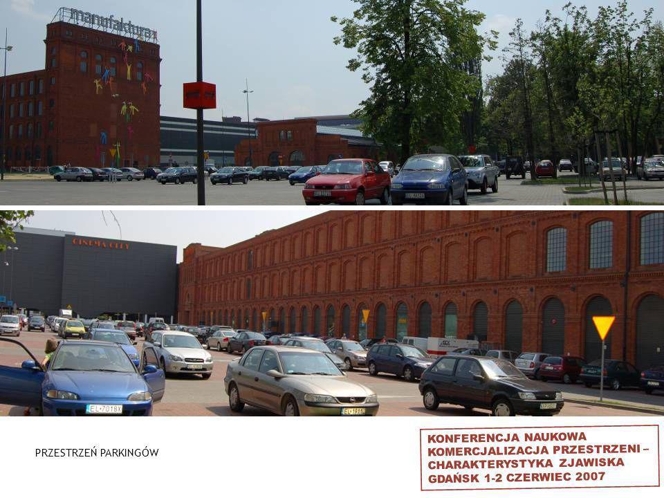 KONFERENCJA NAUKOWA KOMERCJALIZACJA PRZESTRZENI – CHARAKTERYSTYKA ZJAWISKA GDAŃSK 1-2 CZERWIEC 2007