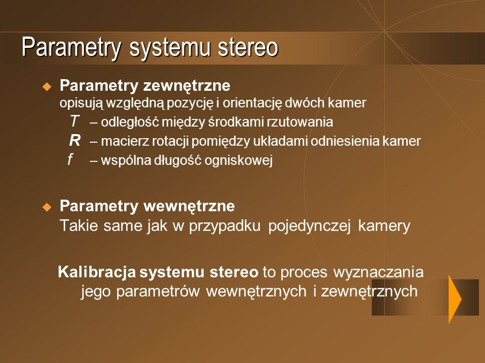 Parametry systemu stereo
