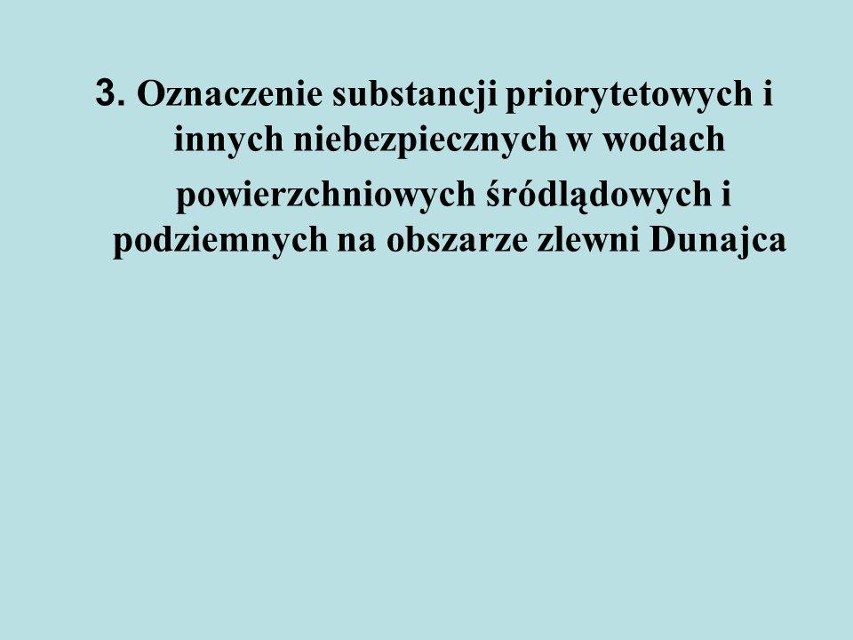powierzchniowych śródlądowych i podziemnych na obszarze zlewni Dunajca