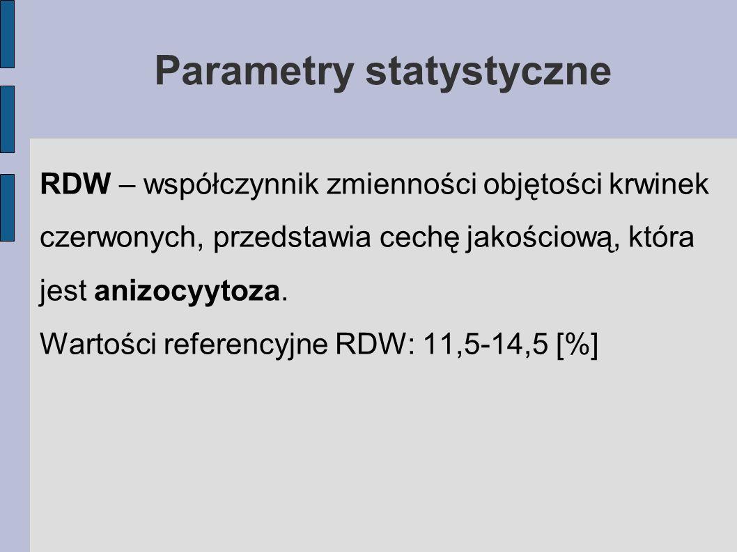 Parametry statystyczne