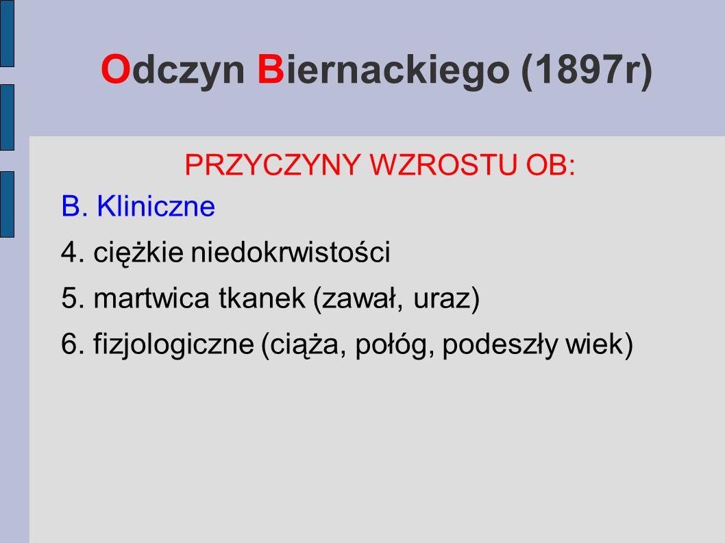 Odczyn Biernackiego (1897r)