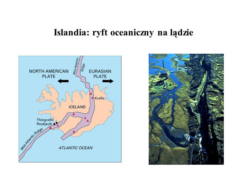Islandia: ryft oceaniczny na lądzie