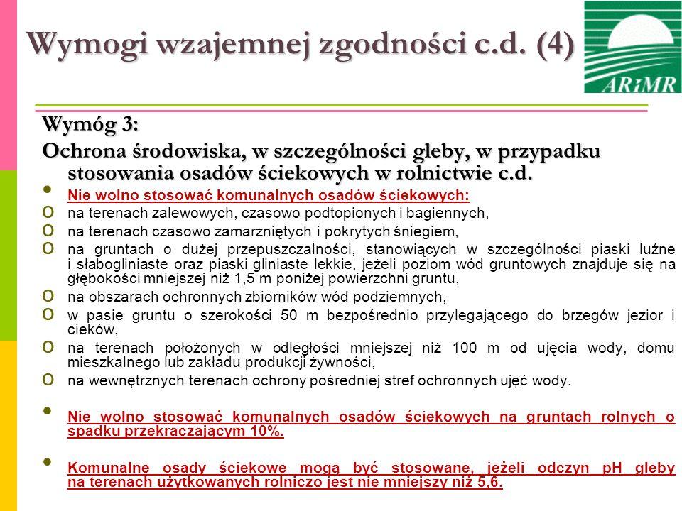 Wymogi wzajemnej zgodności c.d. (4)