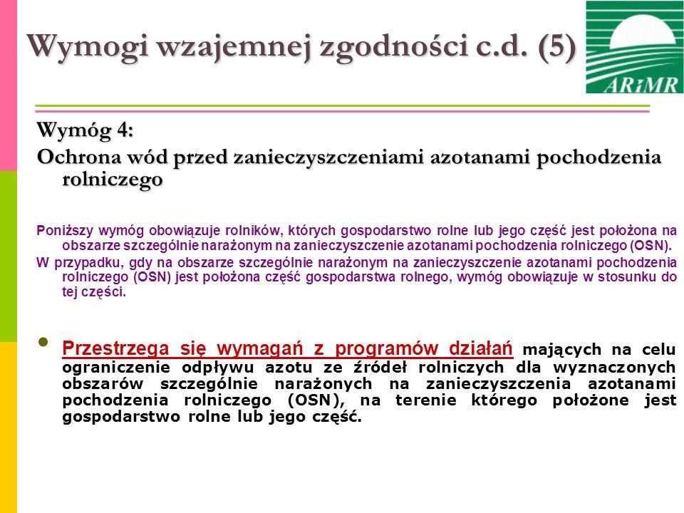 Wymogi wzajemnej zgodności c.d. (5)