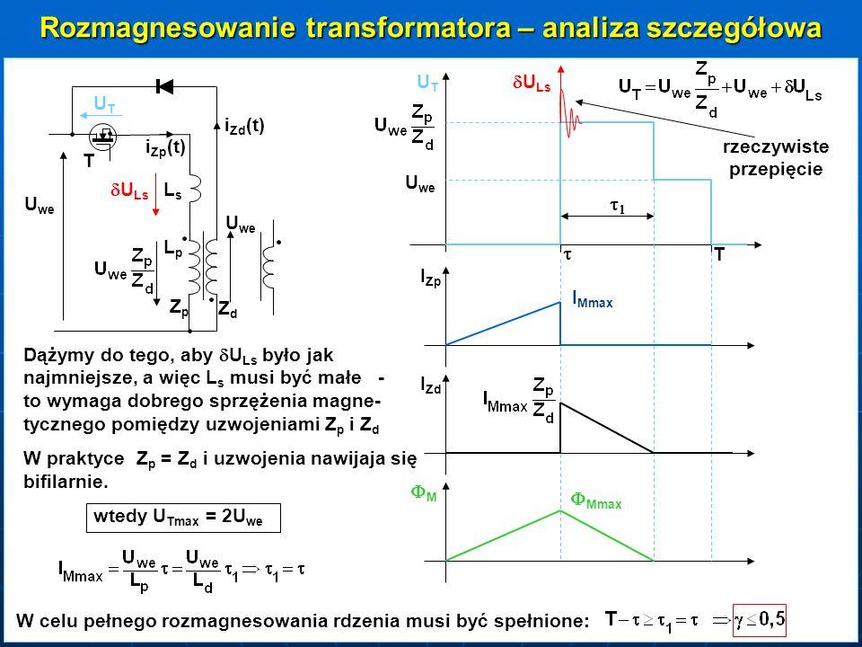 Rozmagnesowanie transformatora – analiza szczegółowa