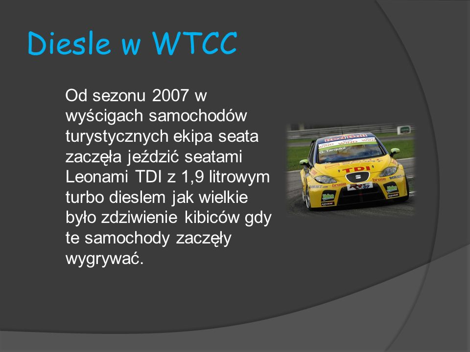 Diesle w WTCC