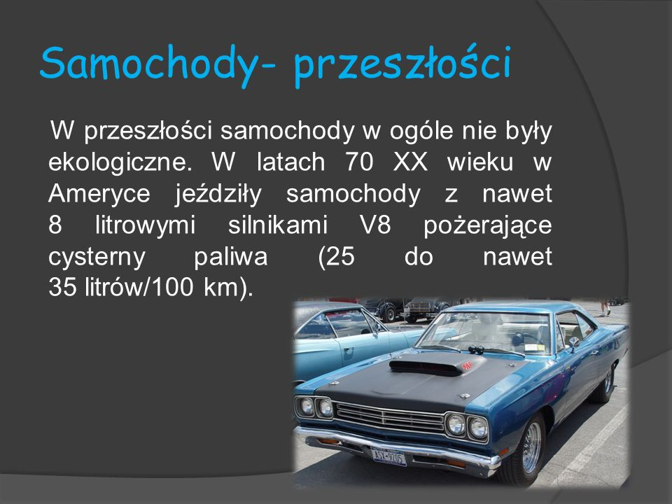 Samochody- przeszłości