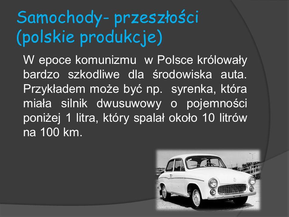 Samochody- przeszłości (polskie produkcje)