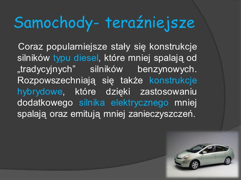 Samochody- teraźniejsze