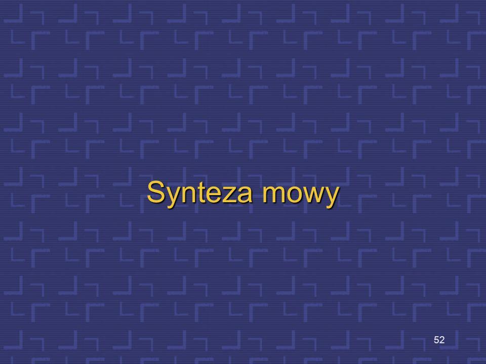 Synteza mowy