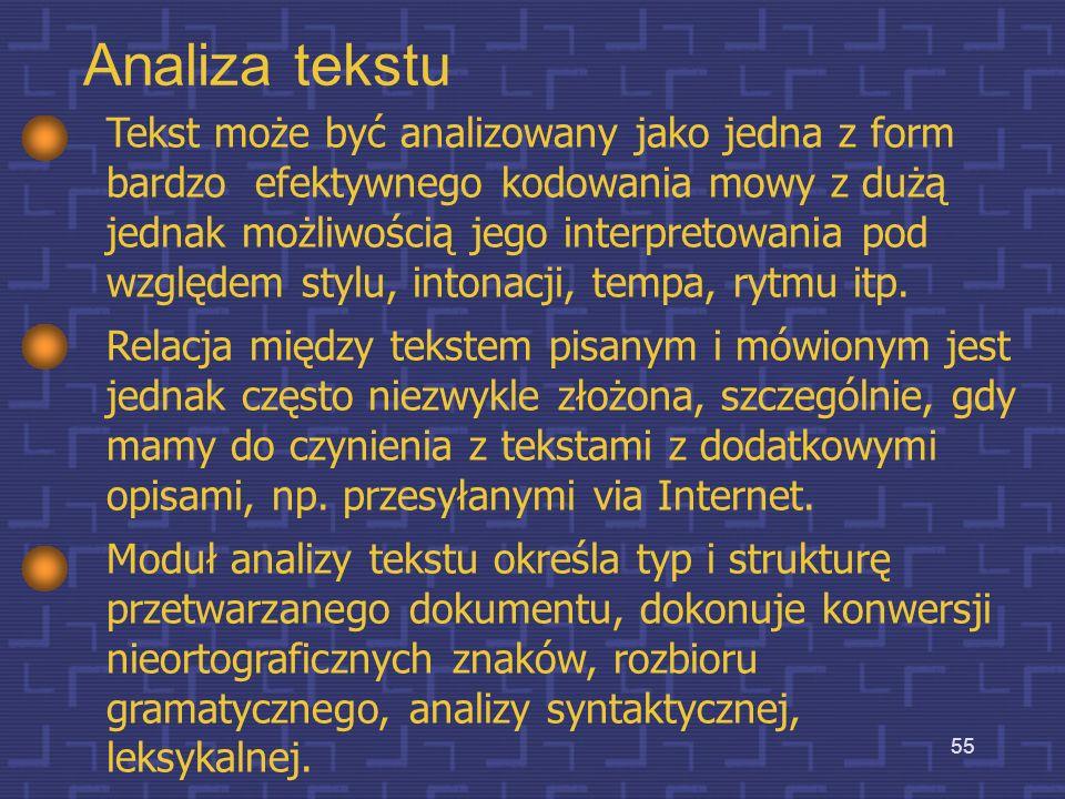 Analiza tekstu