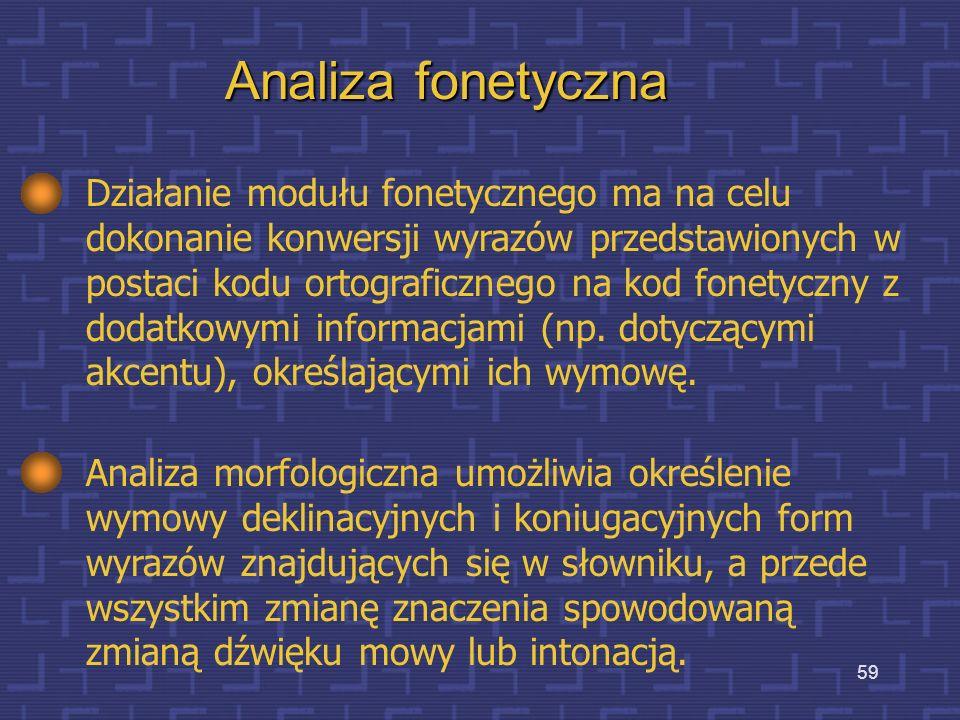 Analiza fonetyczna