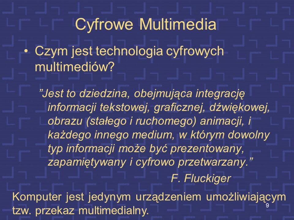 Cyfrowe Multimedia Czym jest technologia cyfrowych multimediów