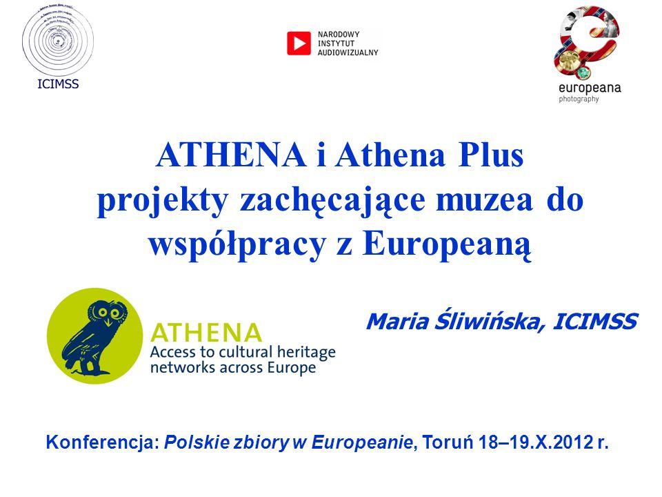 projekty zachęcające muzea do współpracy z Europeaną