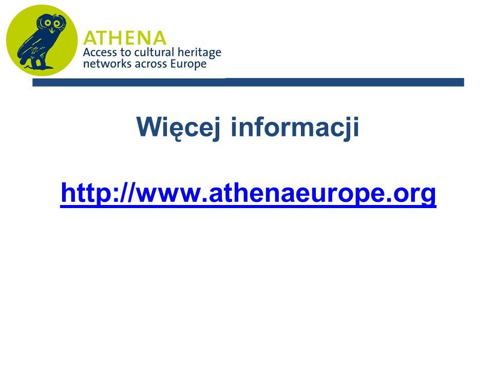 Więcej informacji http://www.athenaeurope.org
