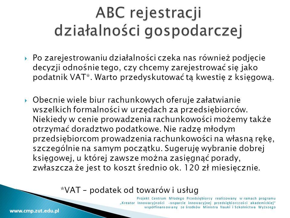 ABC rejestracji działalności gospodarczej