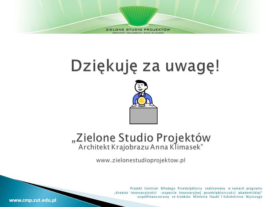 """""""Zielone Studio Projektów Architekt Krajobrazu Anna Klimasek"""