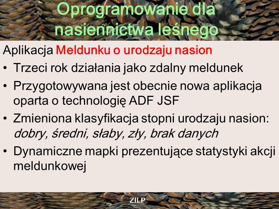 Aplikacja Meldunku o urodzaju nasion