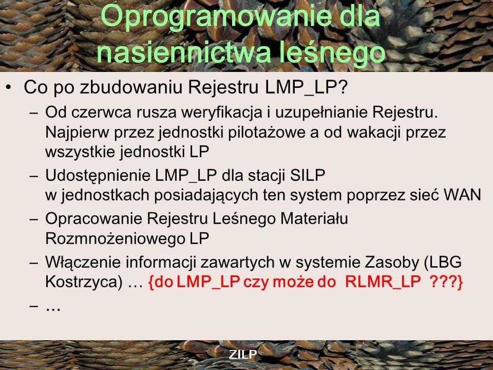 Co po zbudowaniu Rejestru LMP_LP