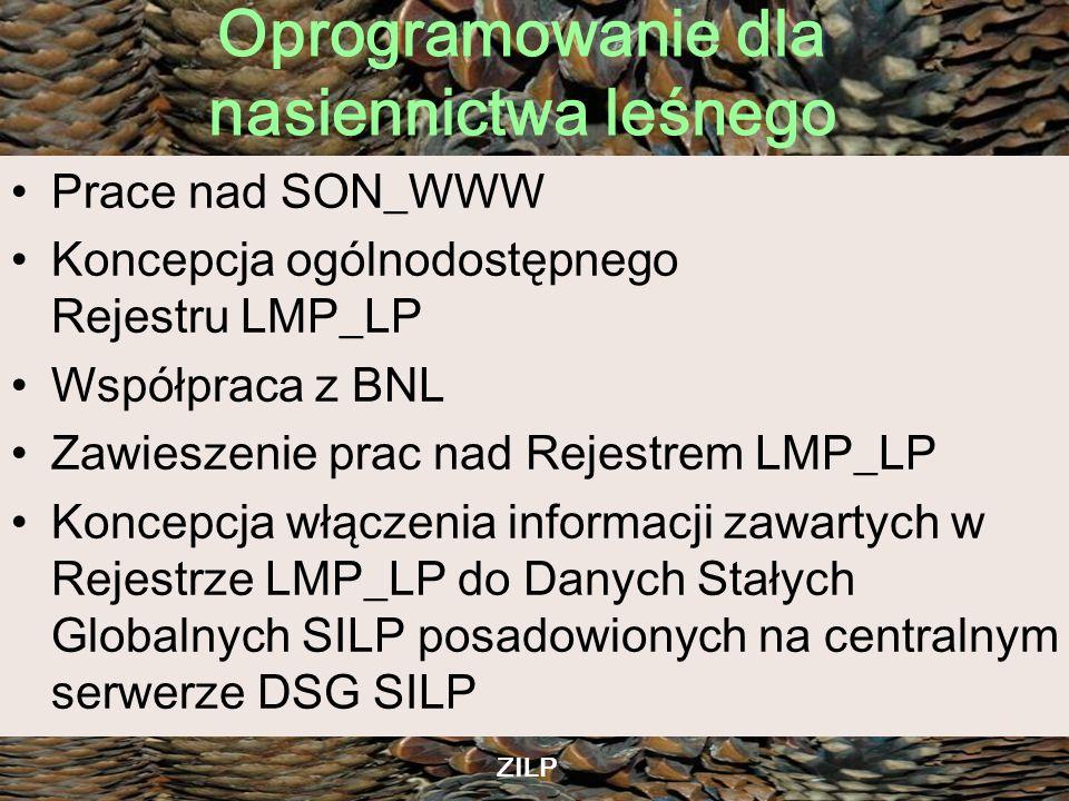 Koncepcja ogólnodostępnego Rejestru LMP_LP Współpraca z BNL