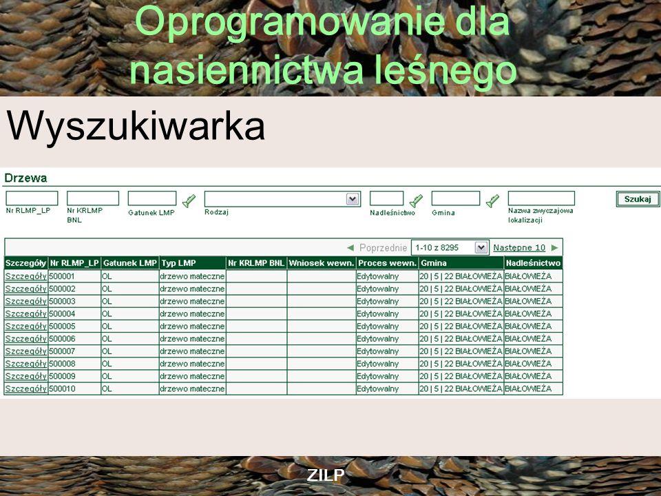 Wyszukiwarka ZILP