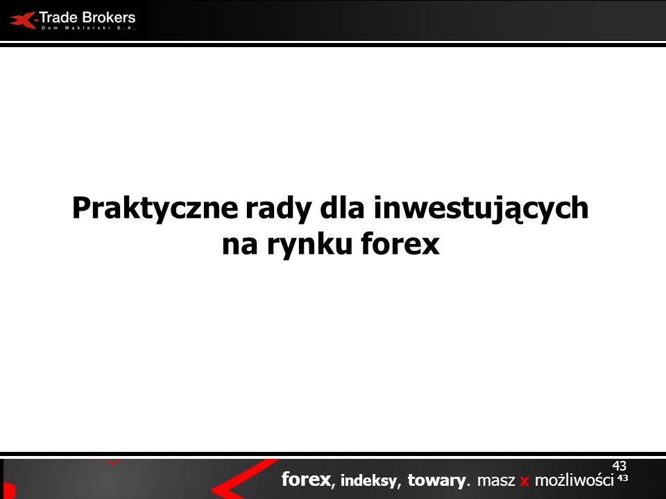 Praktyczne rady dla inwestujących na rynku forex