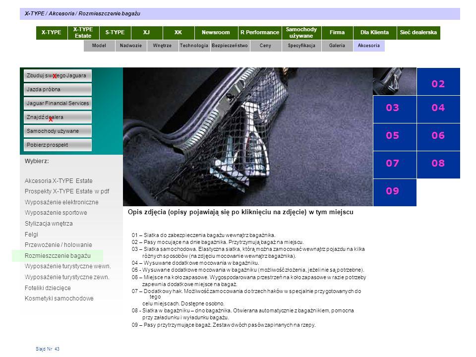 01 02 03 04 05 06 07 08 09 x x X-TYPE 2.0 Diesel X-TYPE 2.0 Diesel