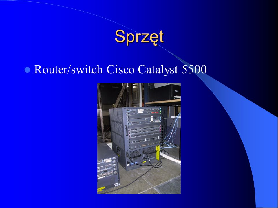 Sprzęt Router/switch Cisco Catalyst 5500