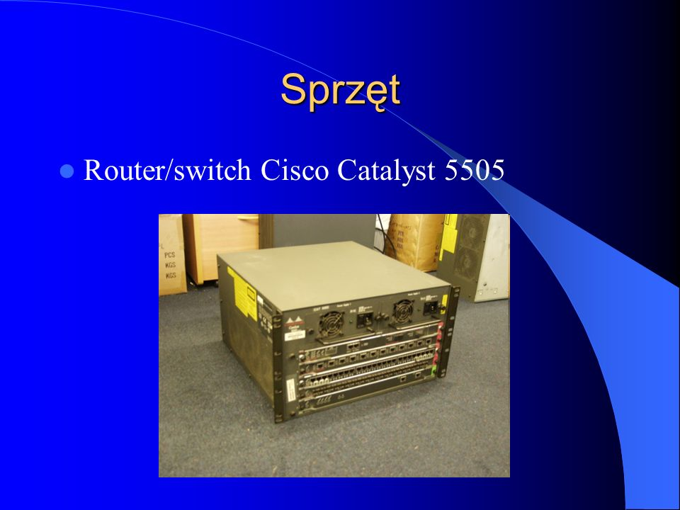 Sprzęt Router/switch Cisco Catalyst 5505