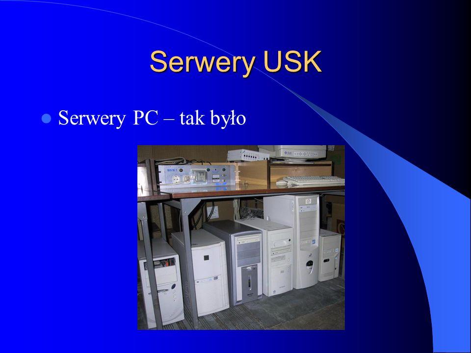 Serwery USK Serwery PC – tak było
