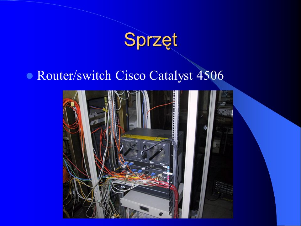 Sprzęt Router/switch Cisco Catalyst 4506