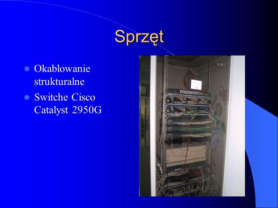 Sprzęt Okablowanie strukturalne Switche Cisco Catalyst 2950G