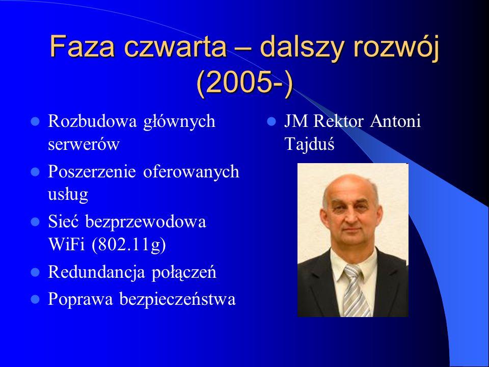 Faza czwarta – dalszy rozwój (2005-)