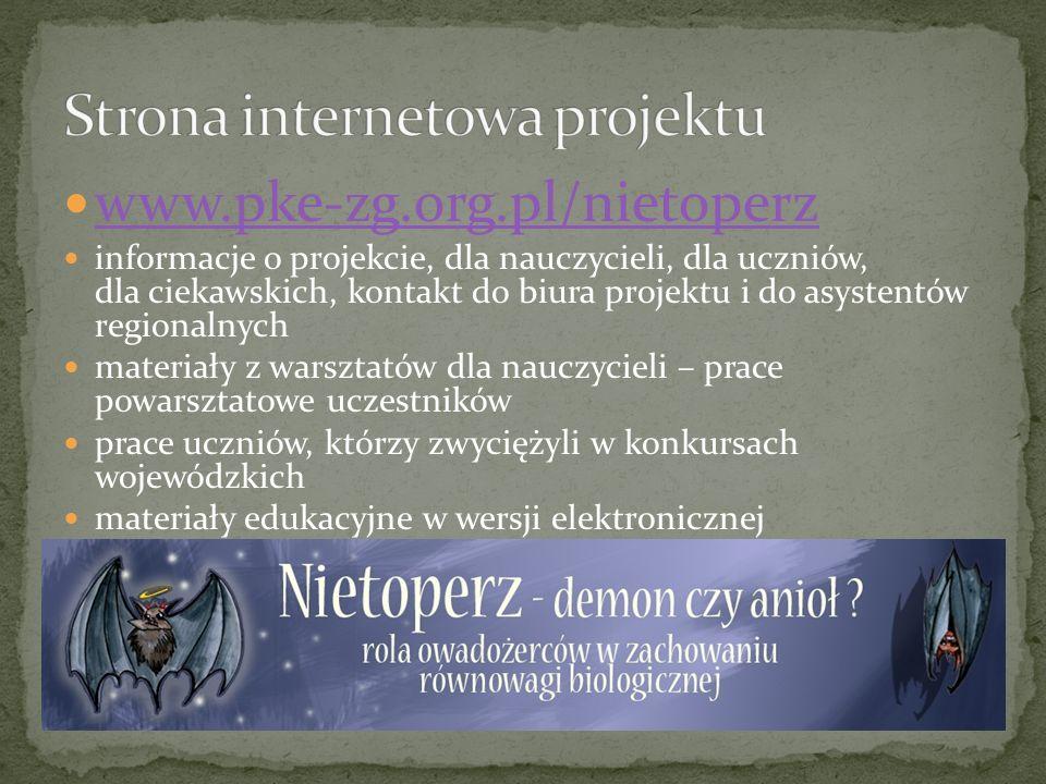 Strona internetowa projektu