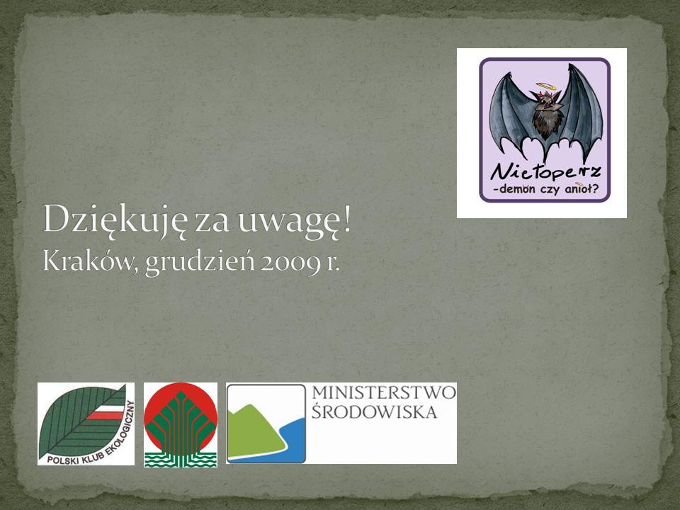 Dziękuję za uwagę! Kraków, grudzień 2009 r.