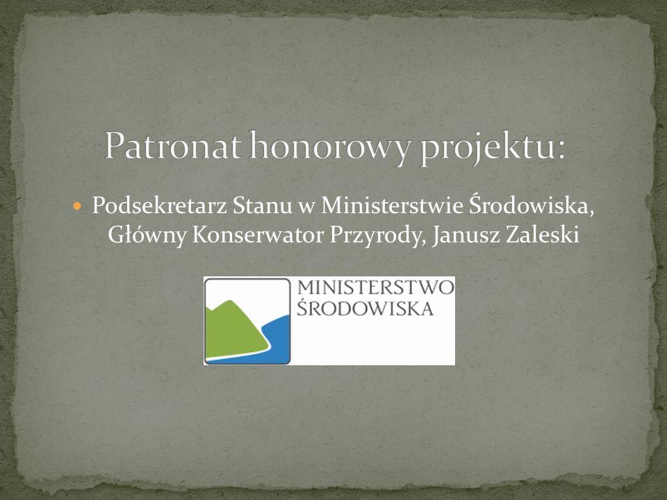 Patronat honorowy projektu: