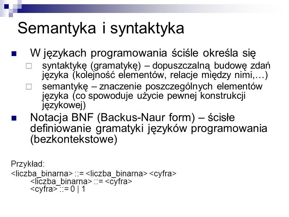 Semantyka i syntaktyka