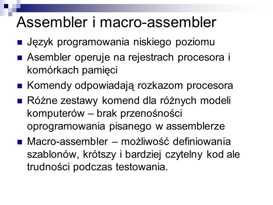 Assembler i macro-assembler