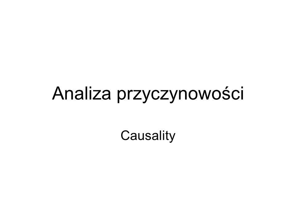 Analiza przyczynowości