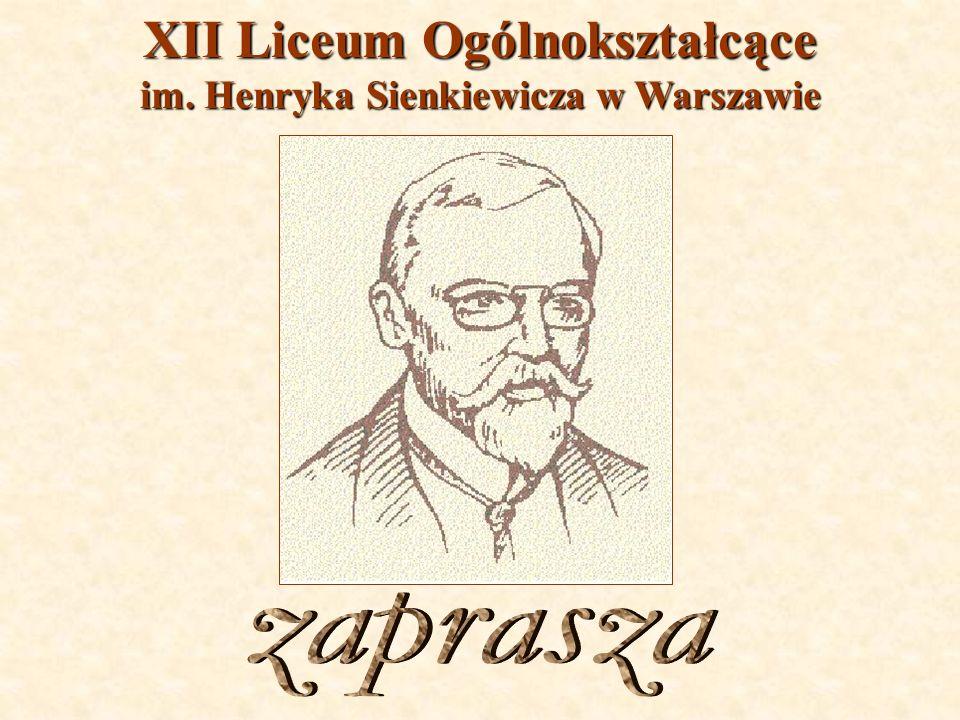 XII Liceum Ogólnokształcące im. Henryka Sienkiewicza w Warszawie