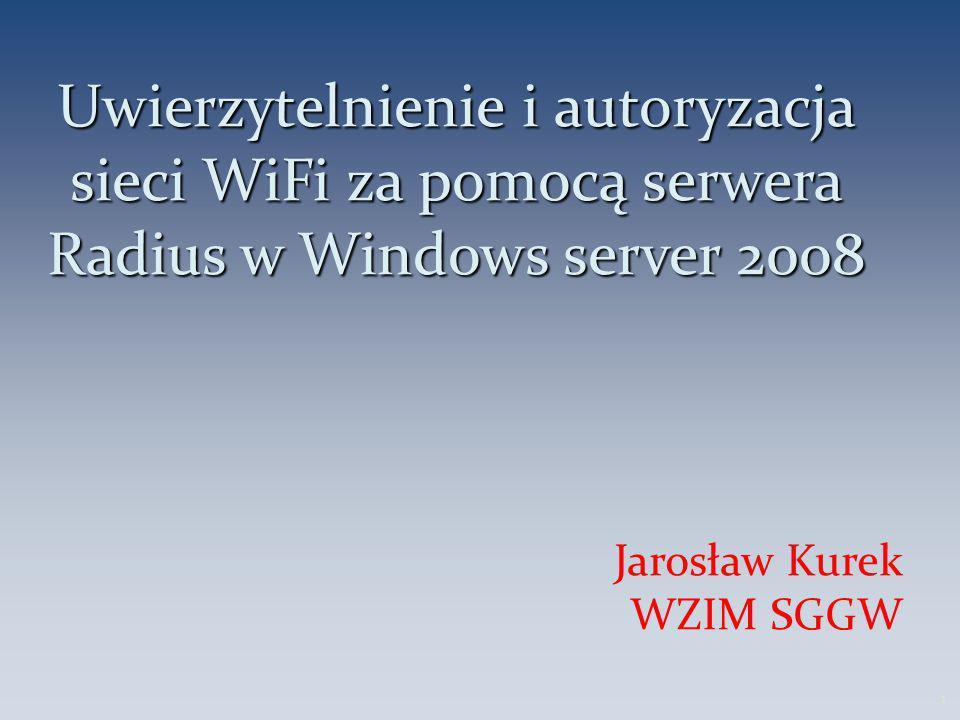 Jarosław Kurek WZIM SGGW