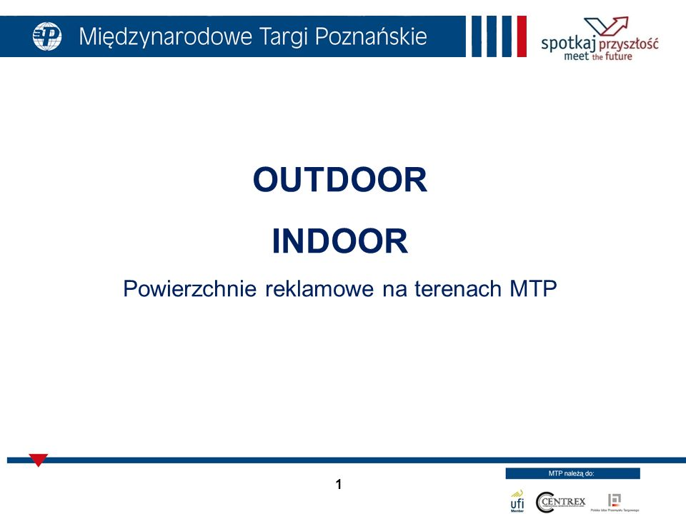 Powierzchnie reklamowe na terenach MTP