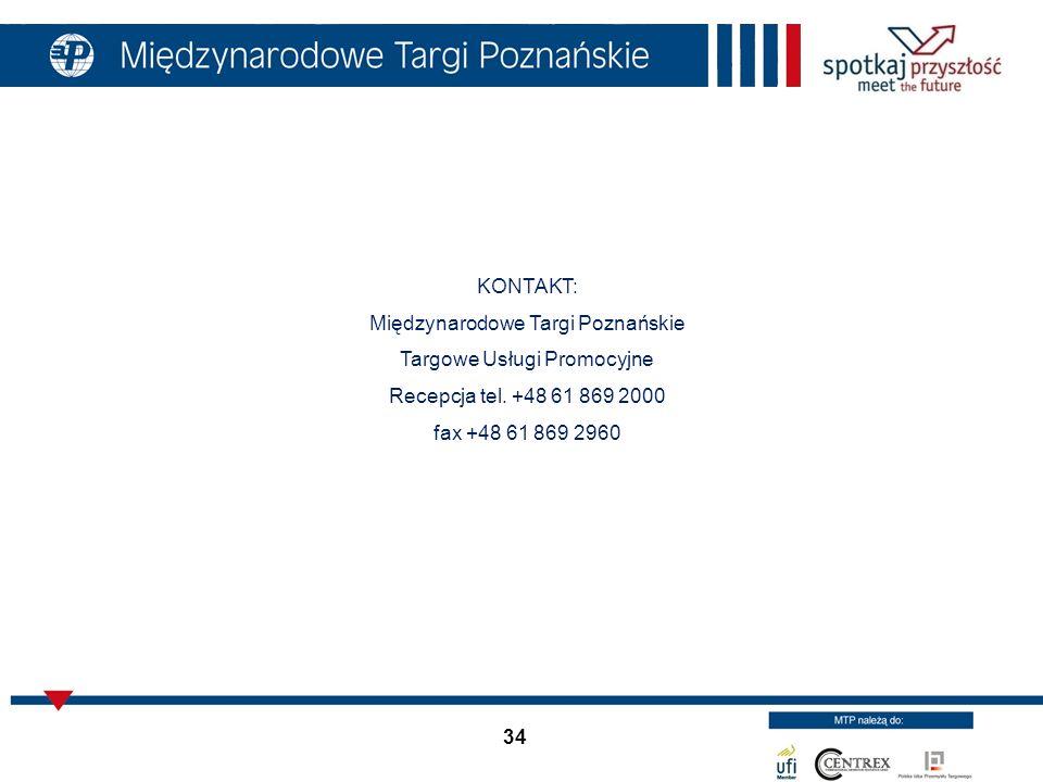 Międzynarodowe Targi Poznańskie Targowe Usługi Promocyjne