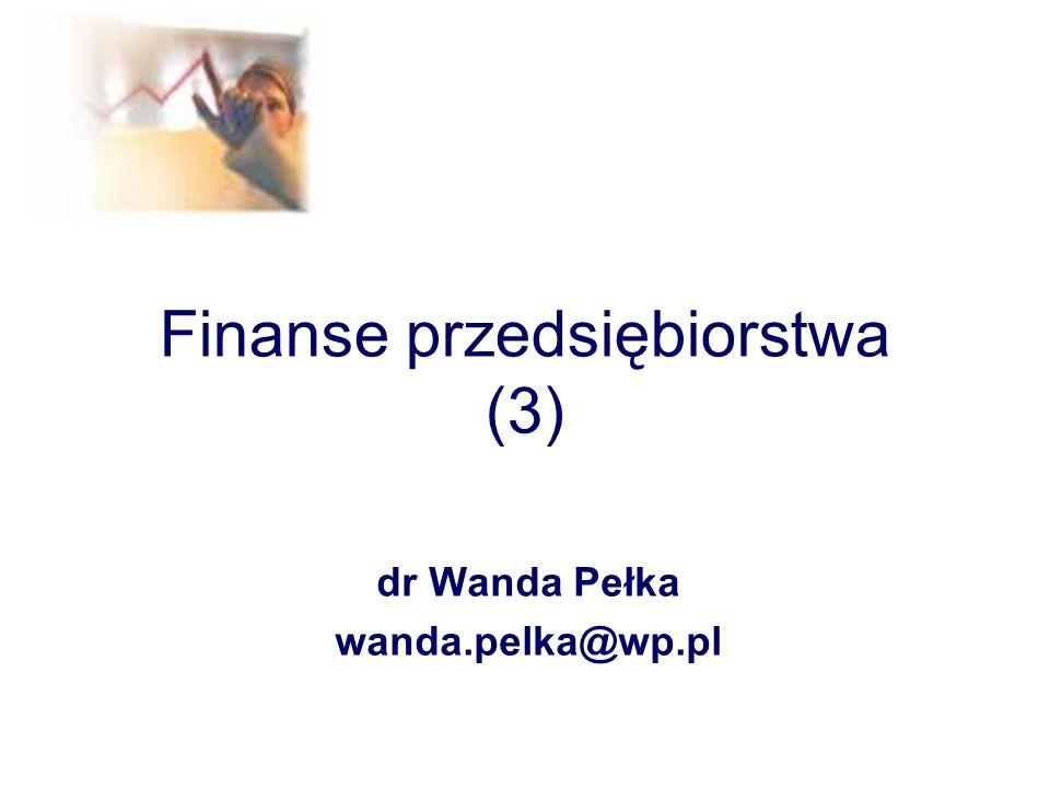 Finanse przedsiębiorstwa (3)